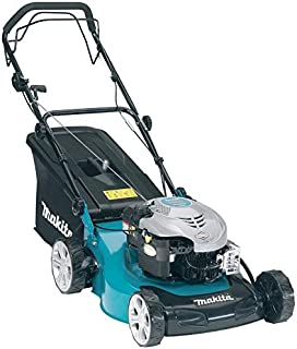 Makita Variable Speed 510 Mm Petrol Lawn Mower, Black And Green [plm5113]