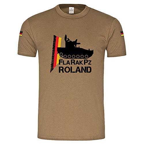 Copytec BW Tropen FlaRakPz Roland Flugabwehr original Tropenshirt TL Tropenhemd #14891, Größe:XL, Farbe:Khaki