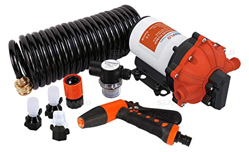 SEAFLO 55-Series Washdown Pump Kit - 12V DC, 5.5 GPM, 70 PSI