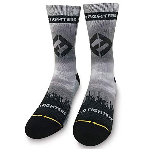 Merge4 x Foo Fighters Horns Men's Socks Black L