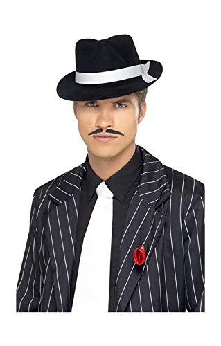 Horror-Shop Gangster cravate blanche