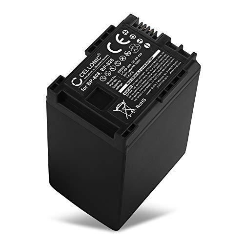 CELLONIC® Batería compatible con Canon XA10 XA20 XA25 XA30 XA35 XA40 XA50 XF405 LEGRIA HF G25 G26 G10 G30 HF S21 HF M46 FS200 FS306 GX10 HF10 HF200 BP-808 BP-820 BP-827 BP-828 2670mAh bateria repuesto