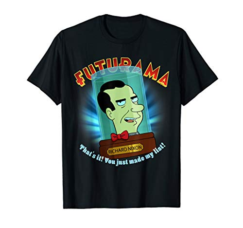 RIchard Nixon Cartoon President Sitcom Movie T Shirt