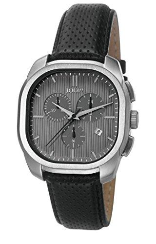 Joop! Herren Chronograph Quarz Uhr mit Leder Armband JP101811002