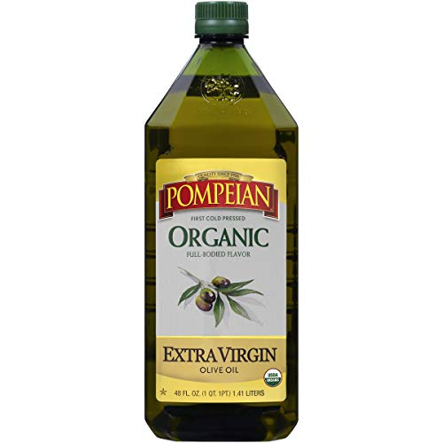 48oz Pompeian Organic Extra Virgin Olive Oil  $7.67 at Amazon