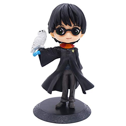 Harry Potter Mini Figuras - YUESEN Harry Potter Cake Topper Niños Mini Juguetes Baby Shower Fiesta de cumpleaños Pastel Decoración Suministros