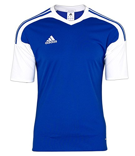 adidas Herren Shirt Team13 JSY Trikot Blau Kurzärmliges T-Shirt (S)