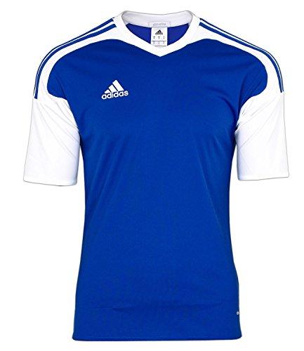 adidas Herren Shirt Team13 JSY Trikot Blau Kurzärmliges T-Shirt (L)