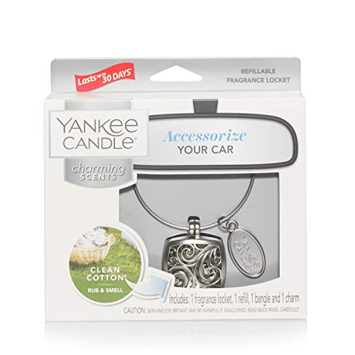 Yankee Candle Charming Scents Starter Kit, Clean Cotton, Square