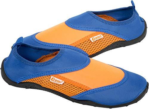 Cressi Coral Shoes Zapatilla para Deportes Acuáticos, Adultos Unisex, Naranja/Azul Royal, 47