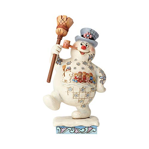 Enesco Frosty der Schneemann von Jim Shore Marching Frosty w/Parade
