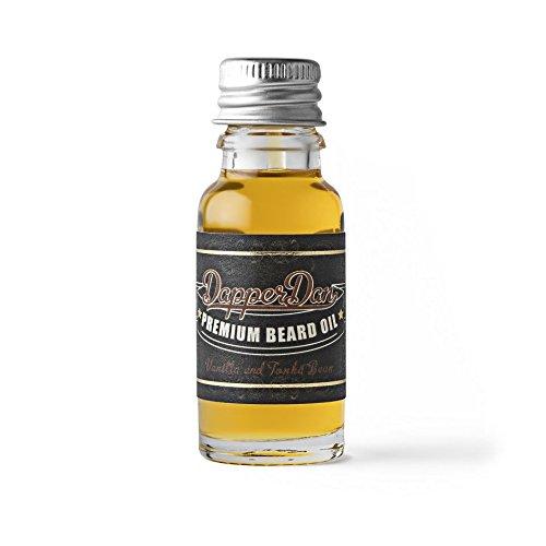 Dapper Dan Bart Öl, 15ml, Vanille und Tonkabohne