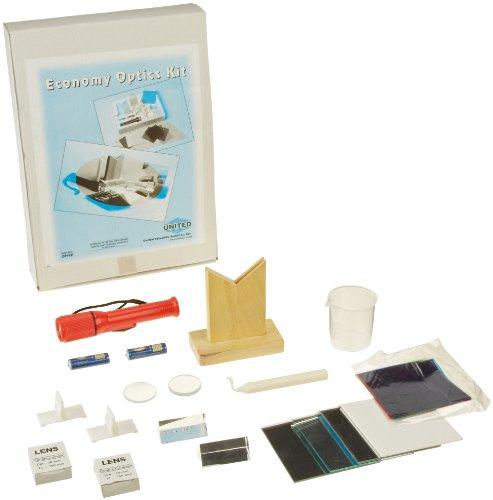 science classroom optics kits United Scientific OPTKIT Economy Optics Kit