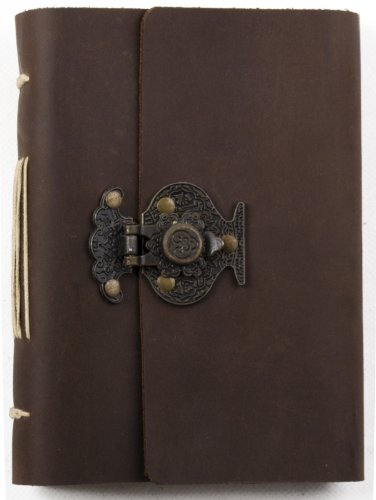 Lockable Leather Journal