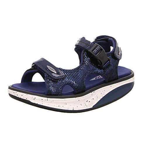 MBT Damen Sandaletten Kisumu 700975-1096F blau 494426