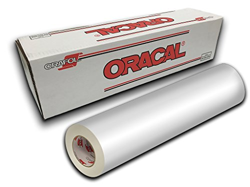 Oracal 651- 24' x 10yd - White Gloss 010