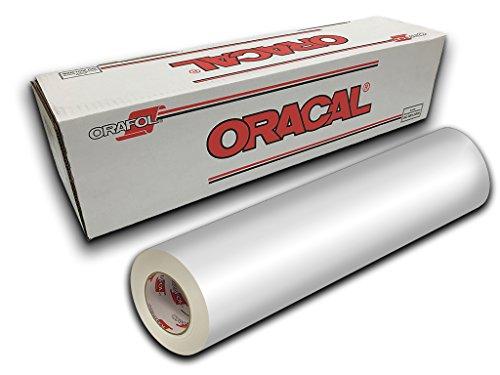 """Oracal 651-12"""" x 10yd - White Gloss 010"""