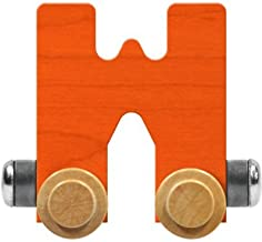 product image for Maple Landmark NameTrain Bright Letter Car W - Made in USA (Orange)