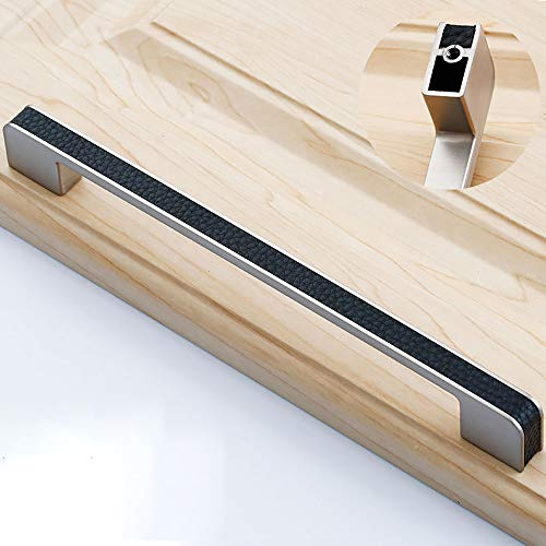 CYYDBB Türgriff Moderne Minimalist Leder Türdrücker Jane europäische Luxusmöbelbeschläge Türgriffe Geeignet für Schubladenschrank Kleiderschrank Tür, Möbel, Wohndekoration (2 Stück),5