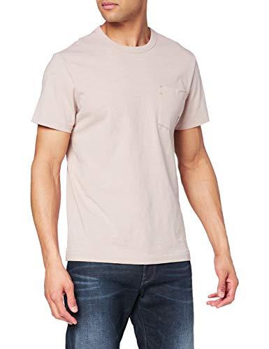 G-STAR RAW Contrast Mercerized Pocket T-Shirt, Lox B255-5236, S Uomo