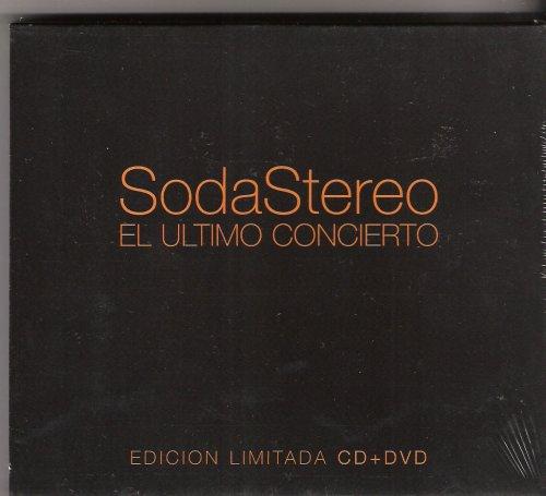 """Soda Stereo / El Ultimo Concierto """"Edicion Limitada"""" [IMPORT] (CD+DVD) Part A, B & C"""