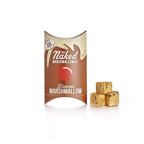 The Naked Marshmallow Co Festive Gourmet Marshmallows Reindeer S#039Mores 100g