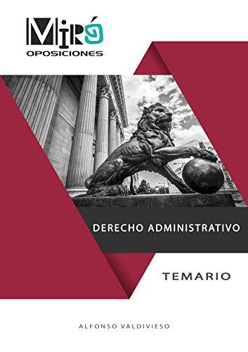 Derecho administrativo: Temario para oposiciones