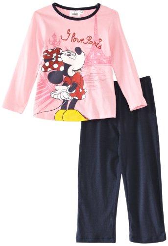 Disney Mädchen Schlafanzug Gr. 122, rosa/blau
