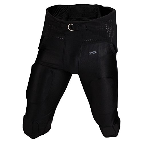 Active Athletics American Football Hose 7 Pad All in One Gamepants - schwarz Gr. M