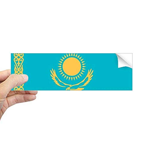 DIYthinker Kazachstan Nationale Vlag Azië Land Rechthoek Bumper Sticker Notebook Window Decal
