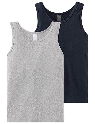 Schiesser Jungen Multipack 2Pack Shirts 0/0 4007065335746, Mehrfarbig (Sortiert 1 901), 164 (2er Pack)