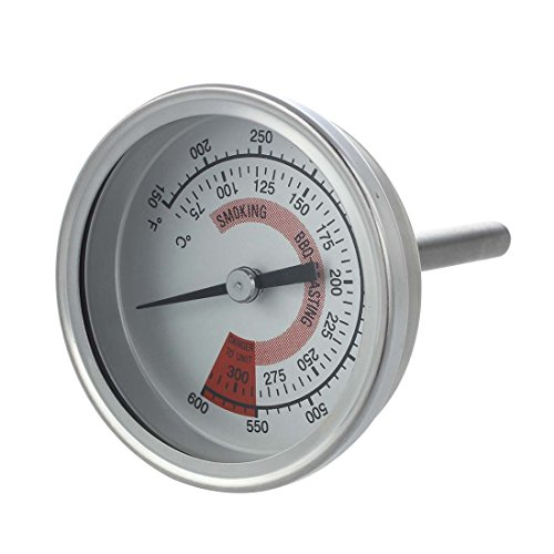 Vaorwne 57mm Zeigerthermometer Bimetall Thermometer 300?°C 600?°F
