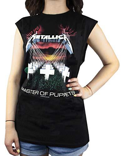 Amplified Metallica Master of Puppets Women's Sleeveless T-Shirt