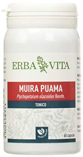 ERBA VITA Integratore Alimentare di Muira Puama - 60 Capsule
