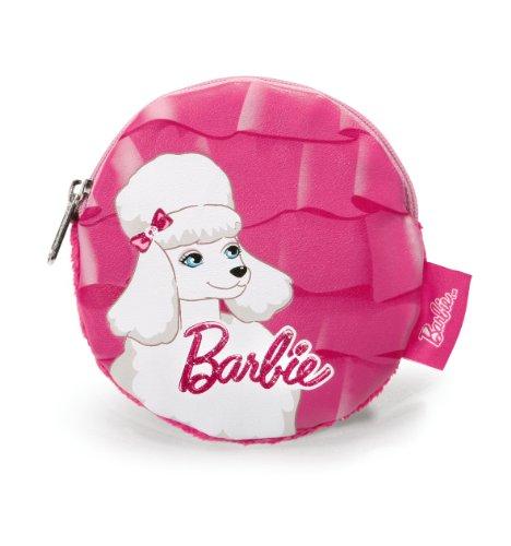 Nici 34372 - Münztäschchen Barbie Pudel Sequin ø: 11 cm