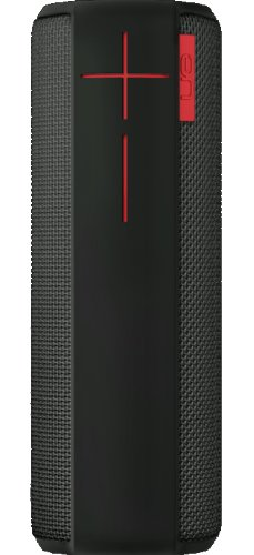 UE Boom tragbarer Bluetooth Lautsprecher (360° Sound, spritzwassergeschützt, 15 Meter kabellose Reichweite) schwarz
