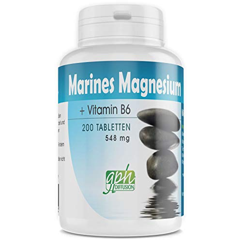 Marines Magnesium + Vitamin B6-548 mg - 200 Tabletten