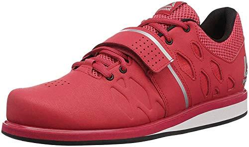 Reebok Men's Lifter Pr Cross-Trainer Shoe, Primal Red/Black/White, 10 M US