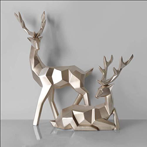 Animal muur sculptuur, Boutique IKEA handwerk innovatieve gelukkige koe ornamenten beeld moderne eenvoudige ornamenten innovatieve IKEA slaapkamer TV kast Animal muur sculptuur dierlijke hoofd