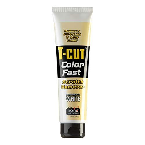 T-Cut Colour Fast White Car Wax Polish Scratch Remover Colour Enhancer 150g Tube