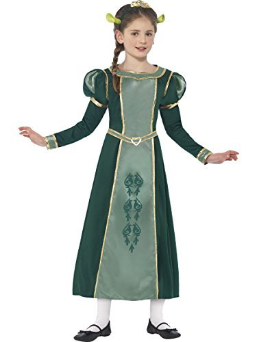 Prinzessin Fiona - Shrek - Dreamworks - Kinder Kostüm - Medium - 143cm - Alter -7-9 by Smiffys