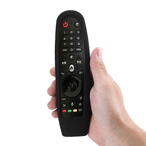 Vobor Anti-Drop Beschermend Hoesje - Anti-drop Schokbestendig Beschermend Siliconen Hoesje Cover Voor LG Smart TV Afstandsbediening AN-MR600