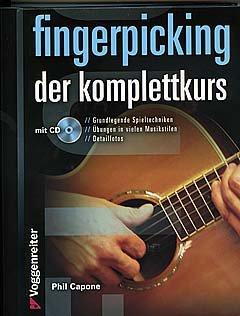 Vingerpicking - de complete cursus - gearrangeerd voor gitaar - met tabulator - met CD [noten / Sheetmusic] component: Capone Phil