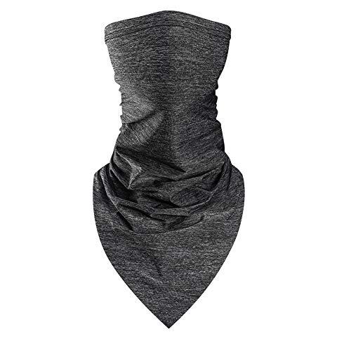 Doek gezicht wasbare sjaal Naadloze Face Cover voor heren Dames Winter Koudlopende motorfiets,C