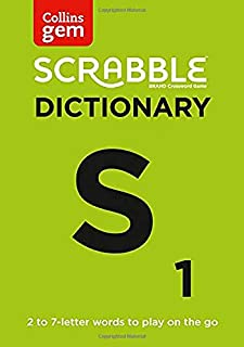 SCRABBLE® Dictionary Gem Edition: The Words to Play on the Go