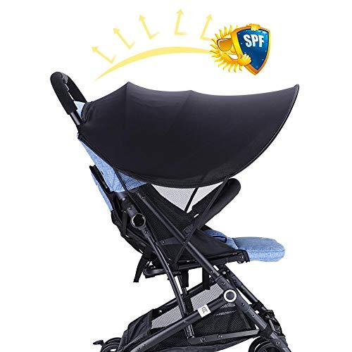 Per Universel Poussette Verrière Extender Pare-soleil Couverture Auvent Amovible Couverture Pour Porte-bébé Infant Landau