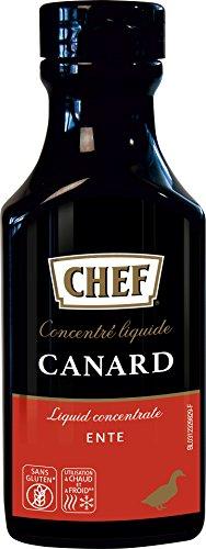 CHEF Premium Konzentrat - Entenfond, flüssig, für ca.6 Liter, 200 ml