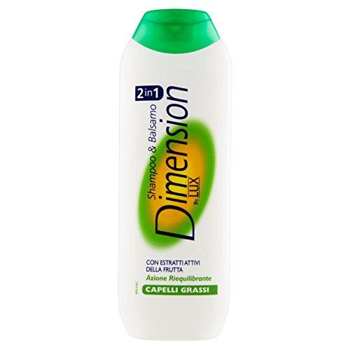 Dimension by Lux - Shampoo und Conditioner, mit aktiven Extrakten aus der Frute, ausgleichende Wirkung für fettiges Haar - 250 ml