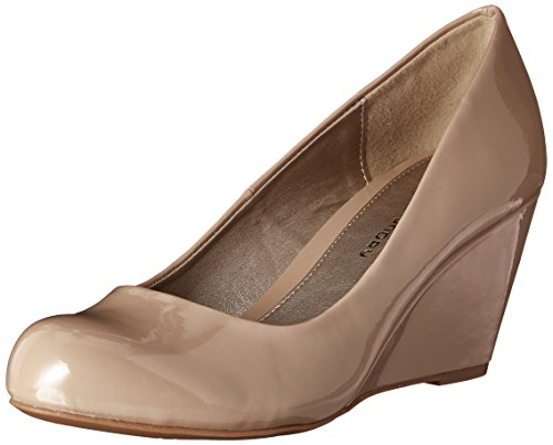 Cl by Chinese Laundry Women's Nima Wedge Pump, Nude Patent, 9.5 M US