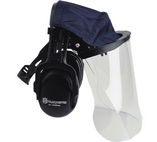 GARDEN / OUTDOOR Husqvarna 505665348 Plexiglas Gesichtsvisier mit Kopfband Gehörschutz